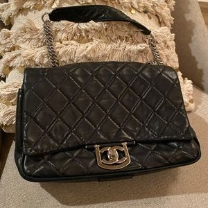 Chanel 2.55 Reissue Jumbo Icons Secret Label Quilt